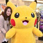 川崎でピカチュウに会ったぁー!