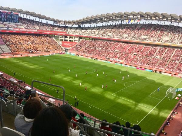 【茨城】カシマスタジアムで応援してきたっ