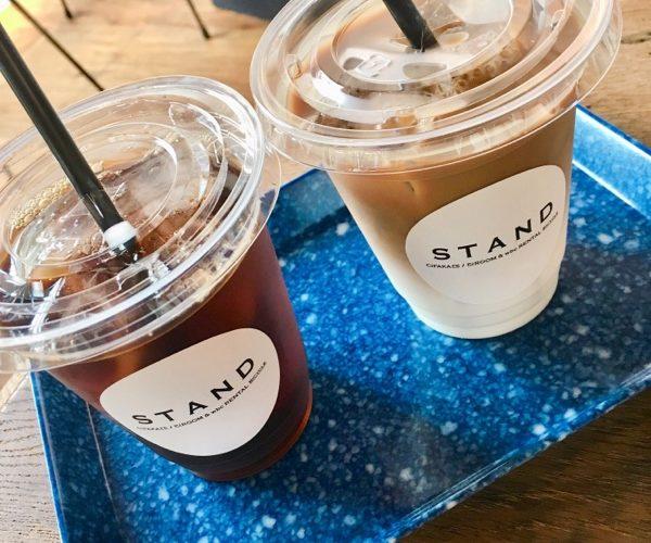 【グルメ】カフェ「STAND」でホッと一息