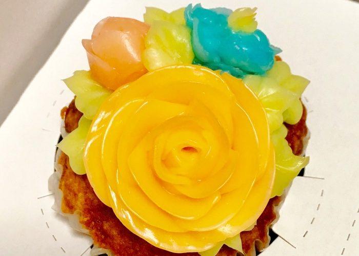 【函館】フラワーカップケーキがとても可愛い〜